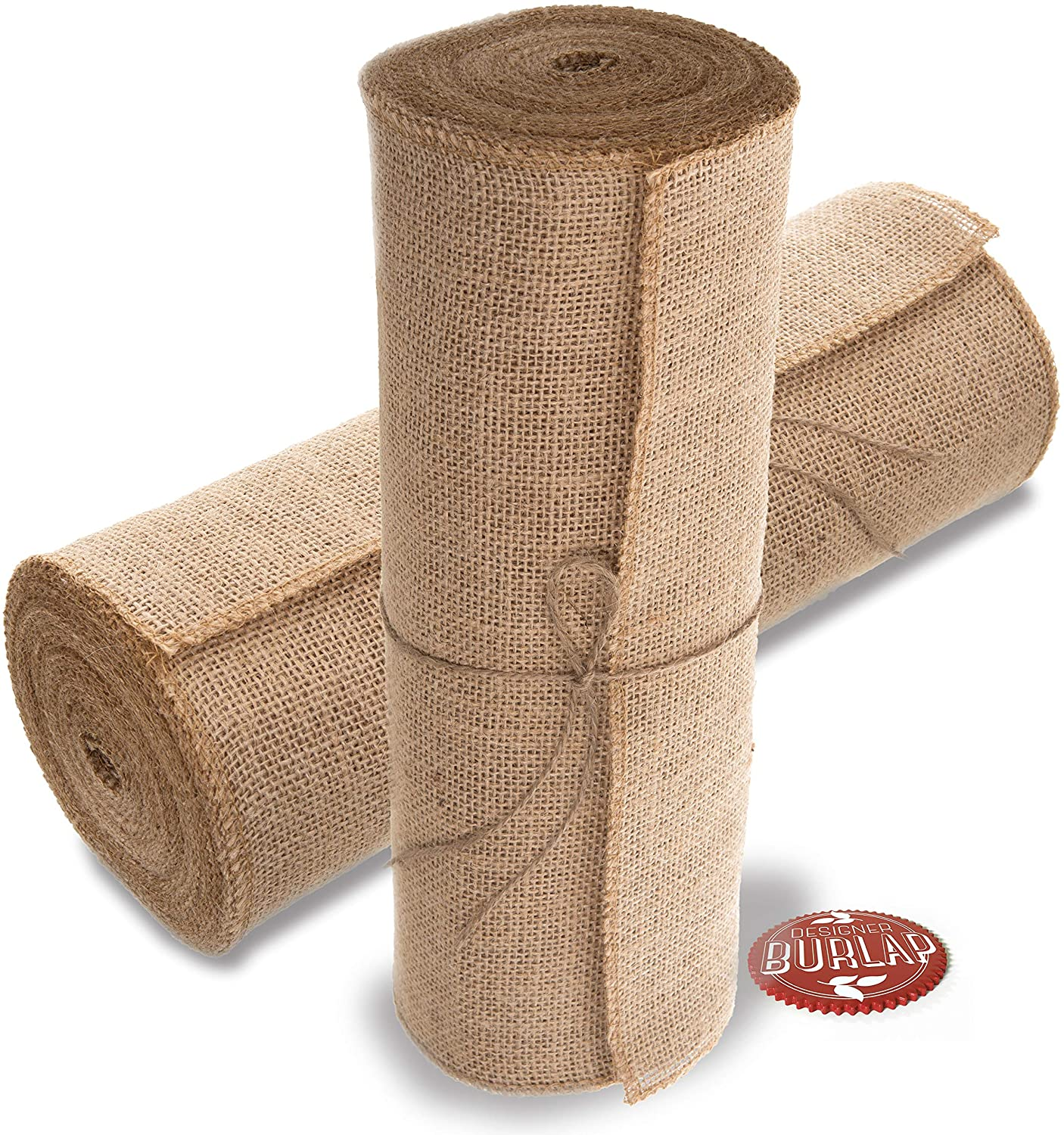 Burlap Table Runner - 14 Inch Wide X 10 Yards Long Burlap Roll